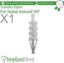 Dental Transfer Open Tray For Nobel Biocare Active Hex Rp Dental Abutment