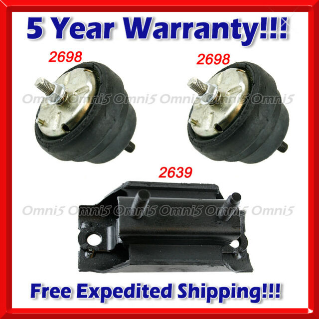 Front Left or Right Engine Motor Mount For 1994-1997 Mazda B2300 2.3 L4 New 2698