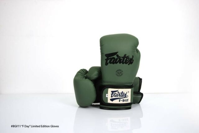 Genuine Fairtex FDAY Boxing Gloves NEW Limited Edition with Micro Fiber Material