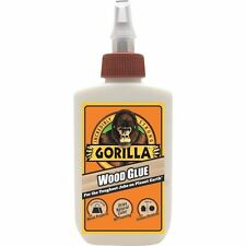 GORILLA WOOD GLUE 4OZ      STRONGEST GLUE/ADHESIVE IN THE JUNGLE