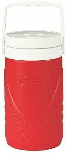 Coleman Beverage Cooler .5 Gallon Jug Red NEW