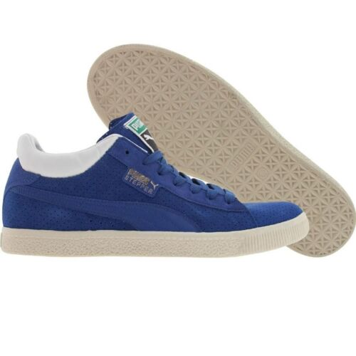 348666-03 $84.99 Puma Stepper Breakpoint olympian blue perf // white