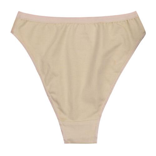 Girls High Leg Cut Briefs Underwear Kids Ballet Dance Pants Knickers Underpants