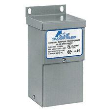 Acme Electric T153005 Transformer 100va 120240v Wall