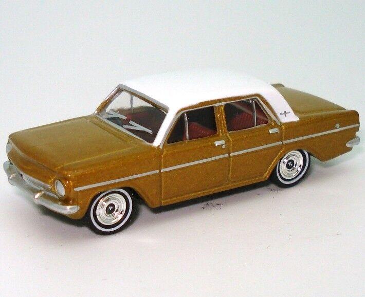 NY 1963 guld vit Holden EH Premier Sedan 1 87 tärningskast modellllerler bil Cooee