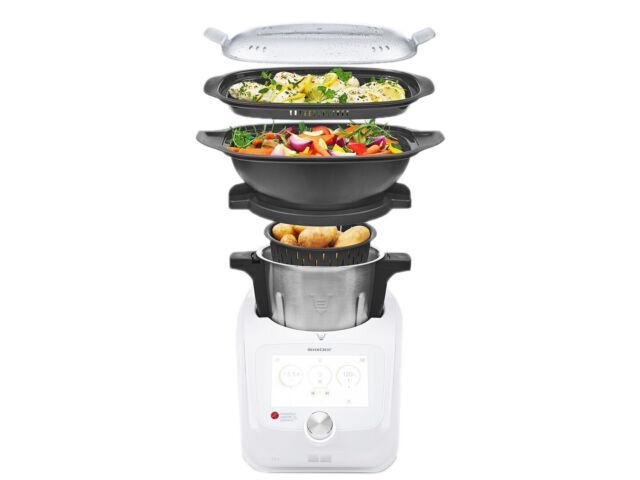 Silvercrest® Küchenmaschine Monsieur Cuisine Connect Skmc 1200 C3 2021