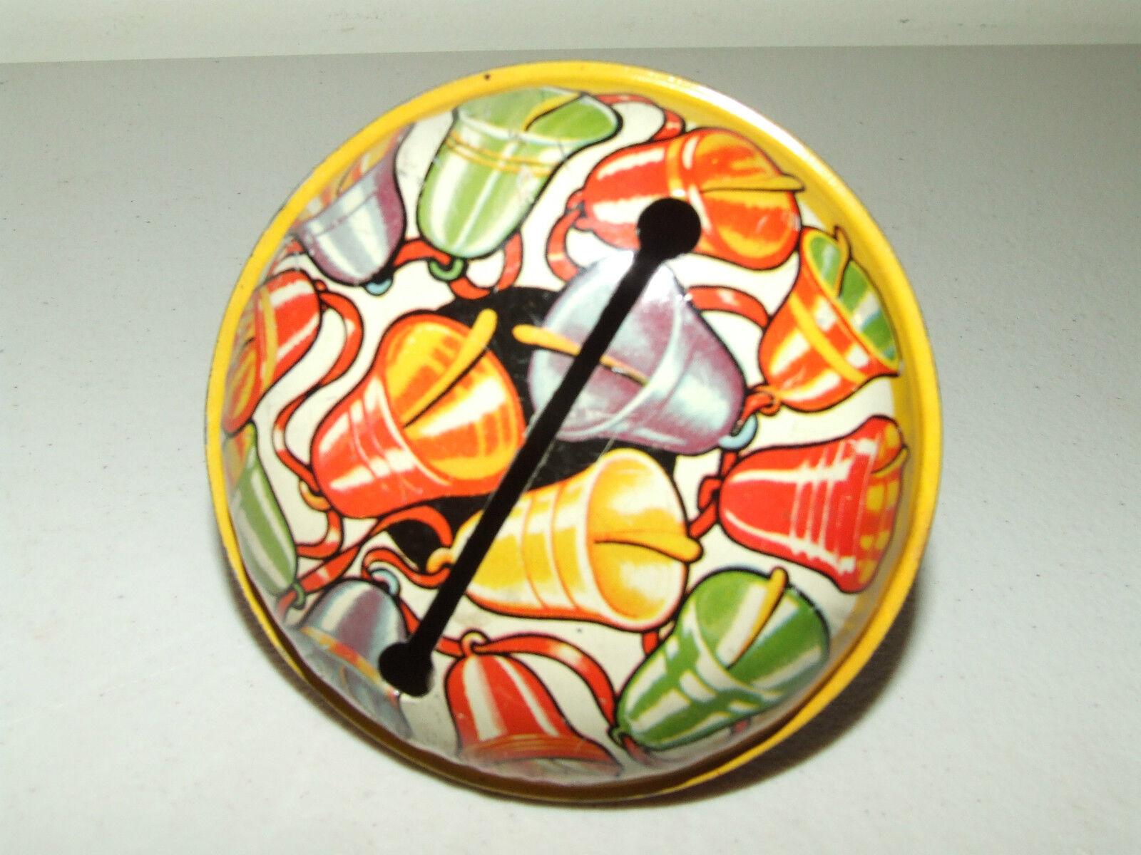 Vintage Vintage Vintage 1950's Tin Litho Noise Maker Lot - Kirchhof Co. Newark NJ Made in USA 79dcb6