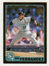 2001 Topps Gold BB #114 Alex Fernandez White Sox BV$5 ####/2001