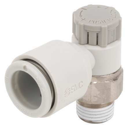 SMC AS2201F-01-10SA Speed Control Valve,10mm Tube,1//8 In