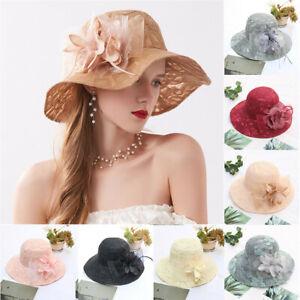 Women-039-s-Church-Kentucky-Derby-Fascinator-Bridal-Tea-Party-Wedding-Fashion-Hat-US