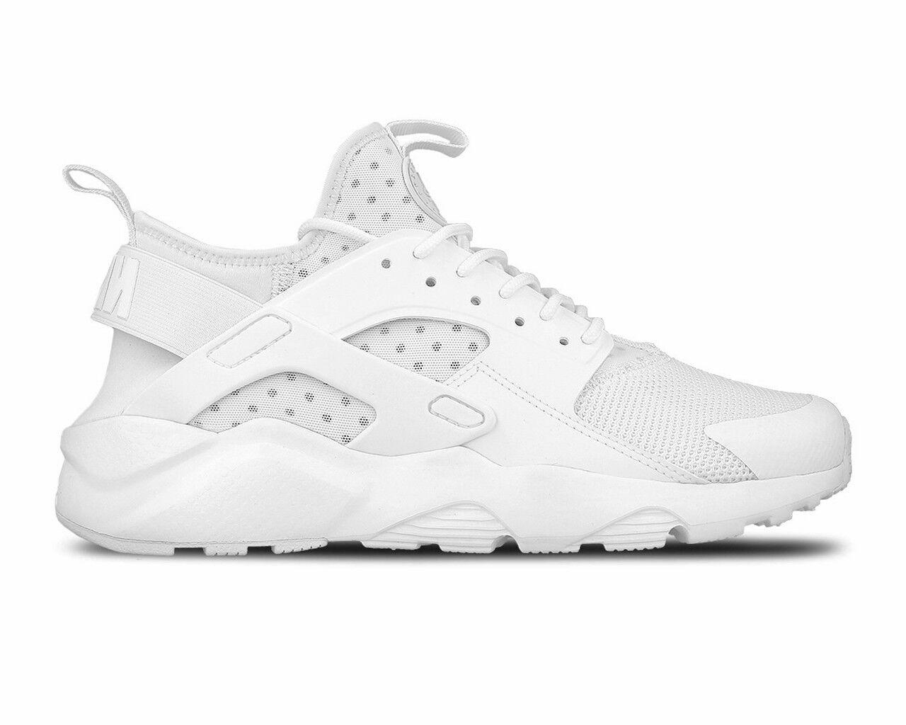 brand new 50c6b d0c8b ... store vente nike air huarache ultra 819685 101 de baskets homme blanc  gym chaussures de 101