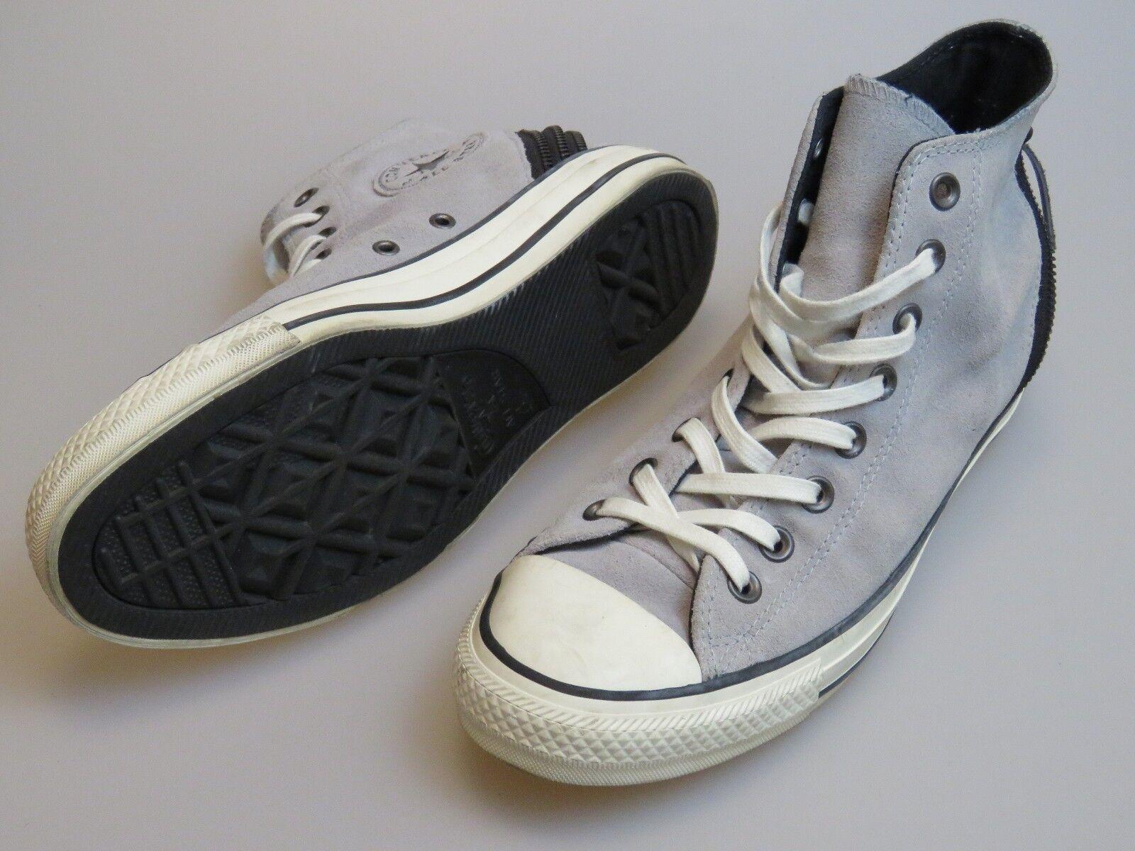 Converse All Star CT como Hi Tri Cremallera Con Cordones Gris Gris Cordones Zapatos De Gamuza 544845C para mujer 9.5 7b1af5