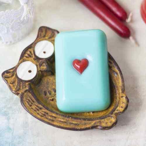 "/""Little heart 2/"" plastic soap mold soap making mold mould"