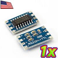[1x] Max232 Rs-232 Max3232 To Serial Uart Ttl Voltage Converter Module 3.3v 5.0v