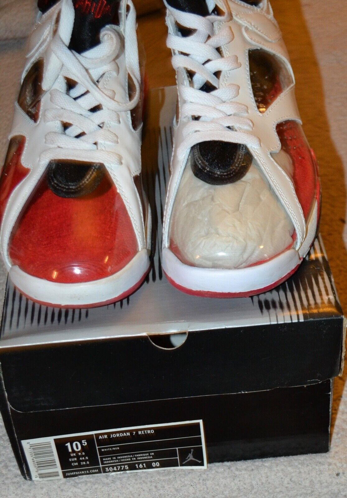 Nike air jordan 7 retro 304775-161 SZ. 10.5 Promo SHOE