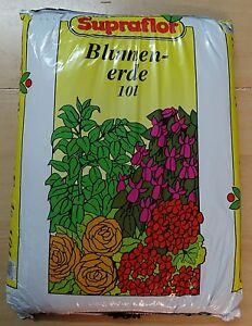 Blumenerde-Qualitaetserde-10l-Grundpreis-0-60-l-Supraflor-Erde-incl-Versand