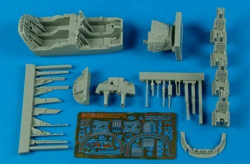 Late Aires 1//72 EA-6B Prowler ICAP-2 Cockpit set for Hasegawa kit # 7270
