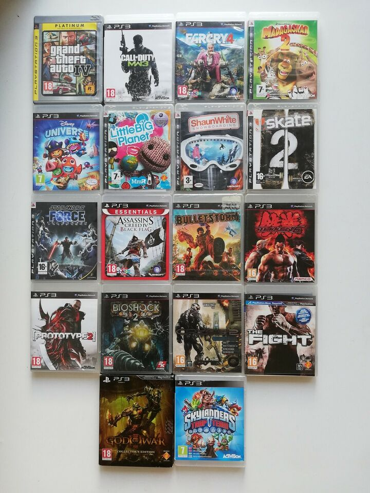 Playstation 3 spil, PS3, action