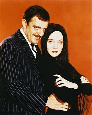 THE ADDAMS FAMILY TELEVISION PHOTO 8x10 Photo