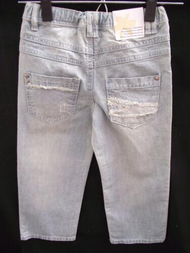 BNWT Boys Sz 10 YCC Designer Faded Blue Ripped Pocket Distressed Jeans RRP $45