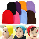 Winter Warm Colorful Kids Cap Cute Soft Knitted Crochet Boy Girl Baby Hat Beanie