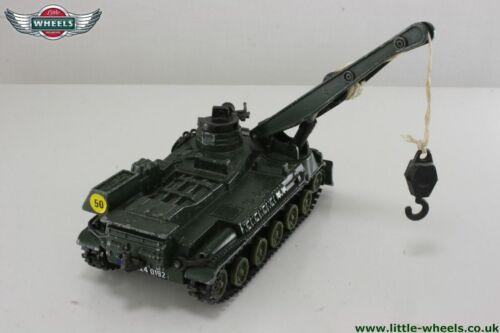 Corgi 908 AMX 30D Recovery tank reproduction black tracks x2
