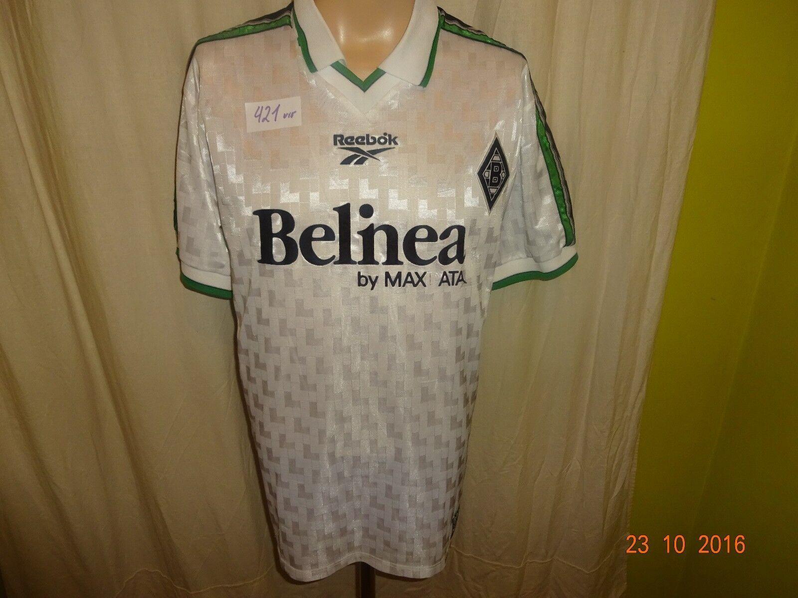 Borussia Mönchengladbach Original Reebok Heim Trikot Limitiertes Trikot Heim 1998/99 Gr.M 8f229e