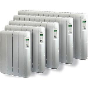 Radiatore elettrico a olio a basso consumo calorifero termosifone stufa a parete ebay - Termosifone elettrico da parete ...