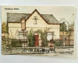 IRISH-POSTCARD-THE-OLD-SCHOOL-HOUSE-CO-DUBLIN-IRELAND-XX11
