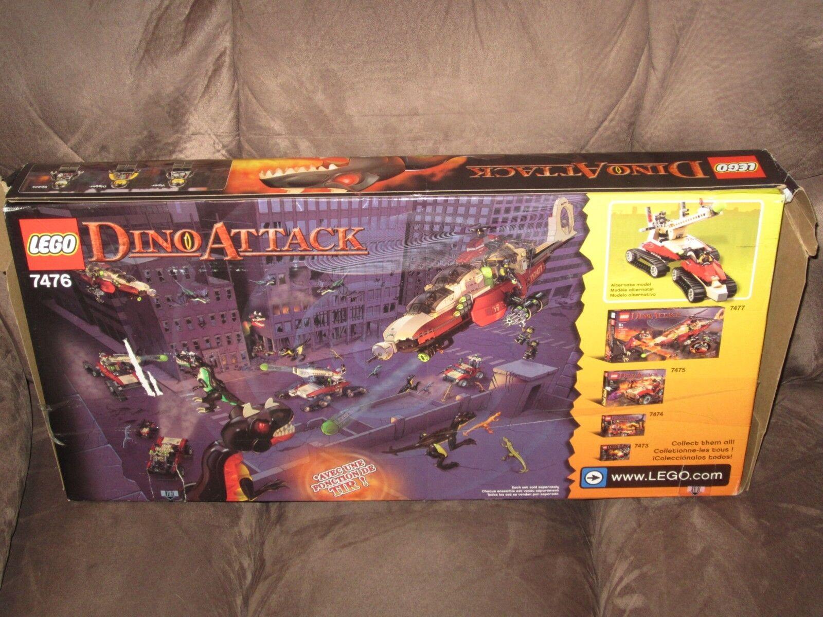 Lego 7476 ataque Set-completo Dino