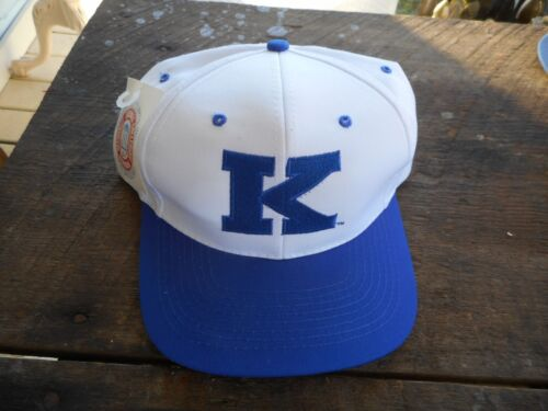 New Old Stock NCAA 90/'s Kentucky Wildcats Snapback Hat Basketball Cap w// Tags