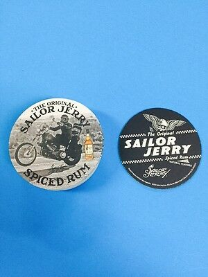 Set of 20 Sailor Jerry Rum Motorcycle Gas Can Cup Coasters