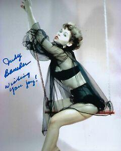 GFA Dragstrip Girl Sexy Movie Actress JUDY BAMBER Signed 8x10 Photo J2 COA
