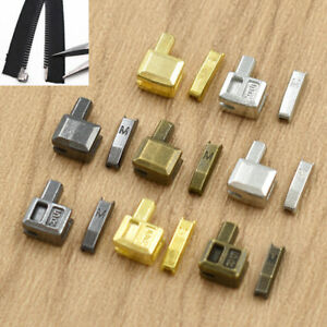 5 Sets Stoppers Metal Tools Sewing Open End Accessories Bottom Tailor Zipper