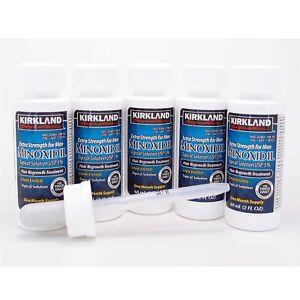 Kirkland 5 Month Supply Minoxidil 5% Extra Strength Men Hair Regrowth Solution
