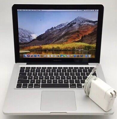 """13.3"""" Apple Macbook Pro 7,1 - Intel C2d @ 2.40ghz 4gb 250gb Hdd Mc374ll/a * Kan Herhaaldelijk Worden Omgedraaid."""