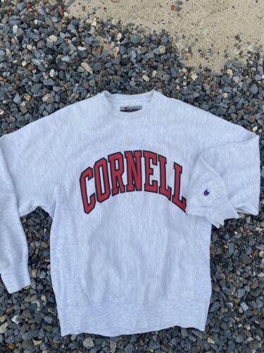 Vintage CORNELL University Champion Gray Sweatshir