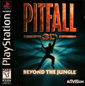 Pitfall-3D-PS1-Great-Condition-Complete-Fast-Shipping