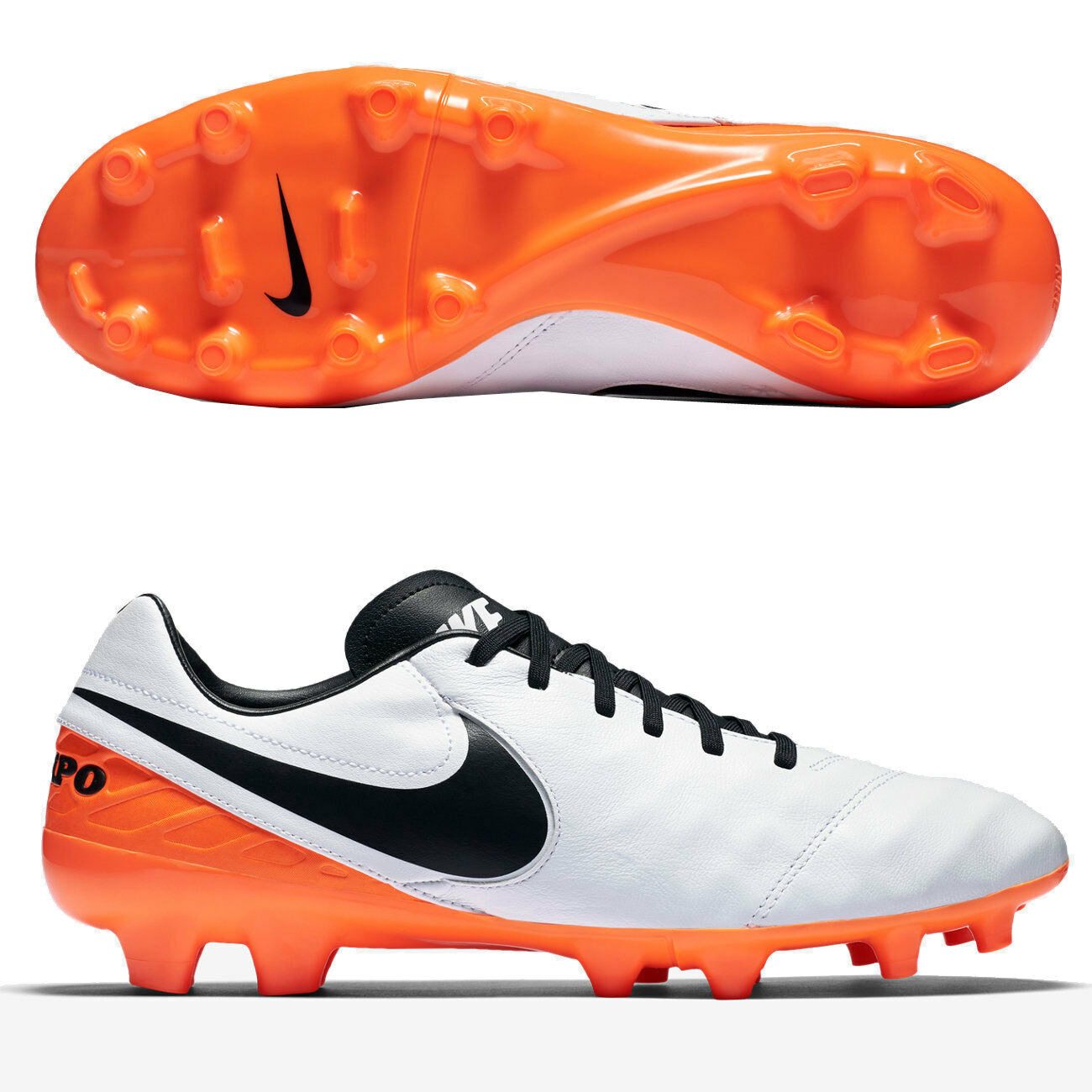 NIKE TIEMPO MYSTIC V FG Men's Soccer Shoes Style 819236-108 MSRP Price reduction