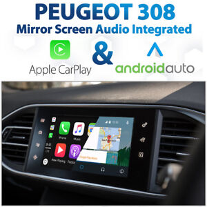 Details about Peugeot 308 Factory Audio Integrated Apple CarPlay & Android  Auto retrofit Kit