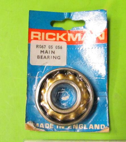 Rickman NOS Zundapp 125 MX Engine Main Bearing p/n R067 05 056 R06705056