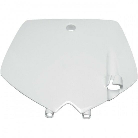 Front number plate ktm 65sx white - Ufo KT03071047
