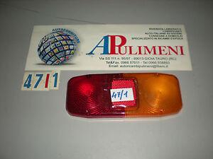 44813535 TRASPARENTE FANALE POSTERIORE (REAR LAMPS) FIAT OM LEONCINO LUPETTO