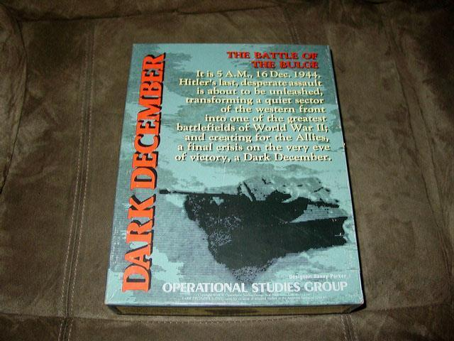 OSG 1979 - Dark December -  The Battle of the Bulge, 16 Dec. 1944 (UNPUNCHED)  grandi prezzi scontati