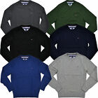 Tommy Hilfiger Sweater Mens Crew Neck Pullover Pima Cotton Long Sleeve New Nwt