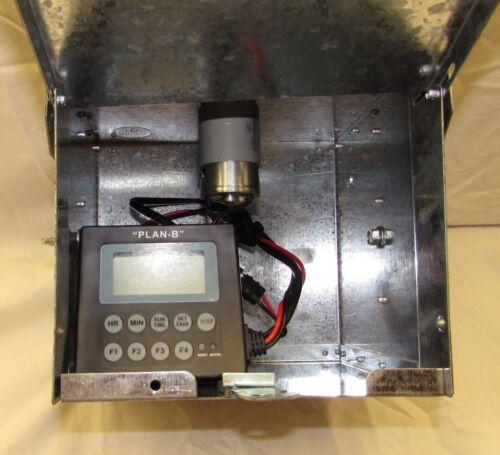 "Galvanized Feeder Control unit with Plan /""B/"" timer 6 or 12 volt"