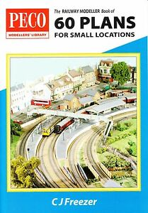 Peco PB3 Railway Modeller Book of 60 '00' Small Locations Track Plans 1st Post