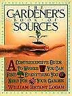Gardener's Book of Sources by Logan, William Bryant-ExLibrary