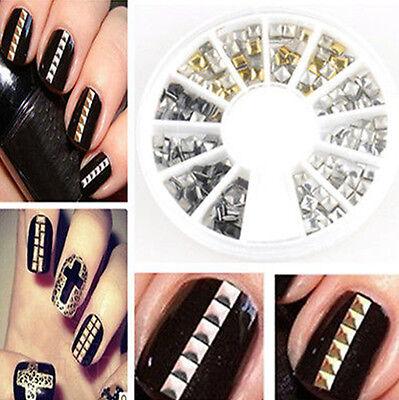 3D Hot Nail Art Rhinestones Glitters Acrylic Tips Decoration Manicure Wheel hs