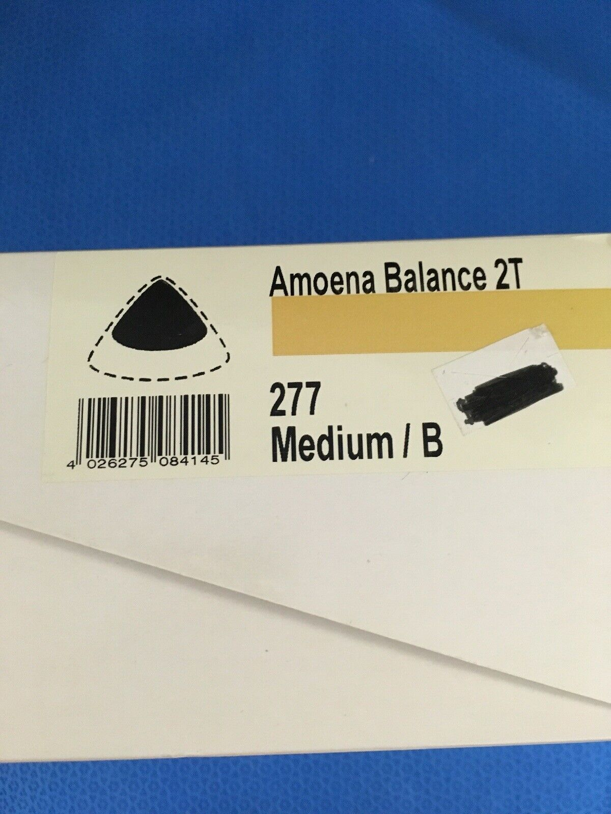 New-Amoena 277 Balance 2T, Size Medium B, Breast Prosthesis